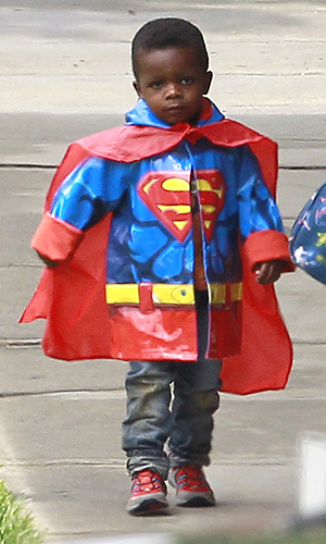 Louis is Superman! (Pacific Coast News)