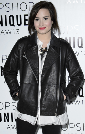 Demi Lovato in February (Getty Images)