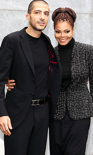 Wissam Al Mana and Janet Jackson, Feb. 25, 2013, Milan Fashion Week (WireImage)