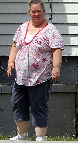 Mama June before ... (PacificCoastNews.com)