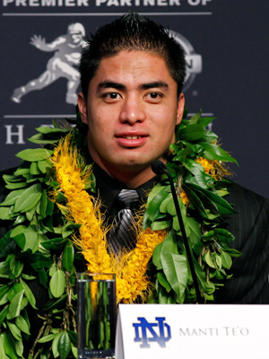 Manti Te'o. (Mike Stobe/Getty Images)