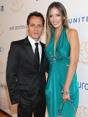 Marc Anthony and Shannon de Lima (Bennett Raglin/WireImage)