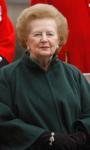 Margaret Thatcher died April 8. (Daniel Berehulak/Getty Images)