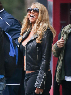 Mariah Carey (Dave Spencer/Splash News)