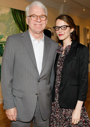 Steve Martin and Anne Stringfield (Getty Images)