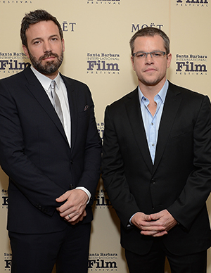 Ben Affleck and Matt Damon (Getty Images)