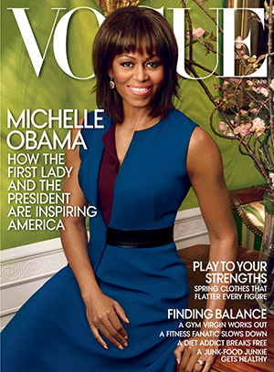 Michelle Obama covers Vogue. (VOGUE/Annie Leibovitz)