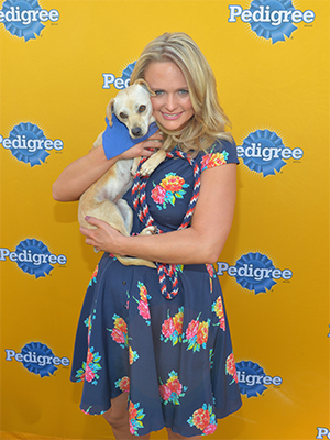 Miranda Lambert (Charley Gallay/Getty Images for Pedigree)