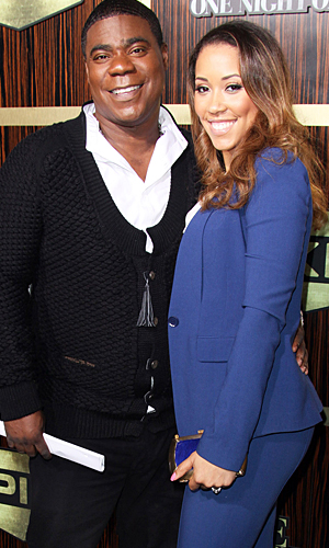 Tracy Morgan and Megan Wollover (Getty Images)