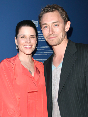 Neve Campbell and J.J. Feild (Gareth Davies/Getty Images)