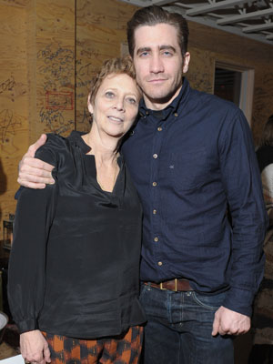 Jake Gyllenhaal and Naomi Foner (Michael Loccisano/Getty Images)