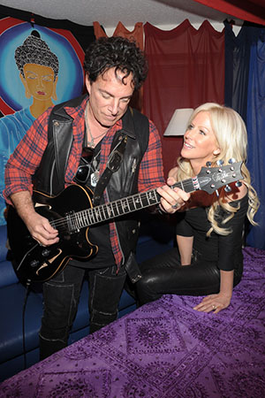 Neal Schon and Michaele Salahi (M. Salahi)