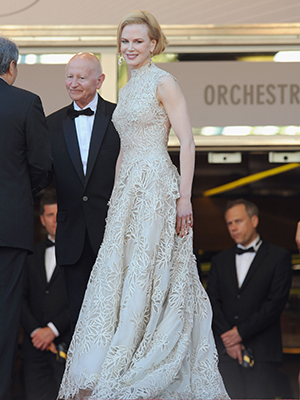 Nicole Kidman in her Valentino gown (Getty Images)