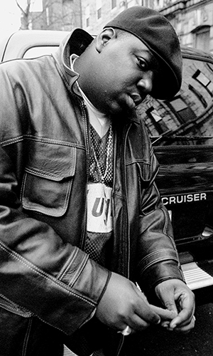 The Notorious B.I.G. (NY Daily News/Getty Images)