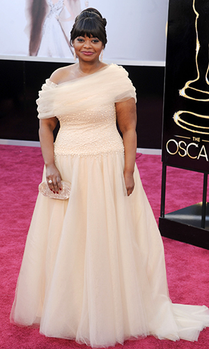 Octavia Spencer arrives at the 2013 Oscars. (Gregg DeGuire/WireImage)