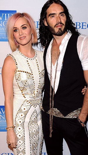 Katy Perry and Russell Brand (Getty Images)