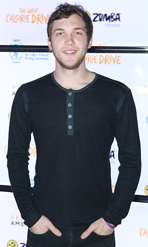 Phillip Phillips at Zumba's