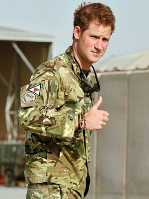 Prince Harry, October 2012 (John Stillwell/Getty Images)
