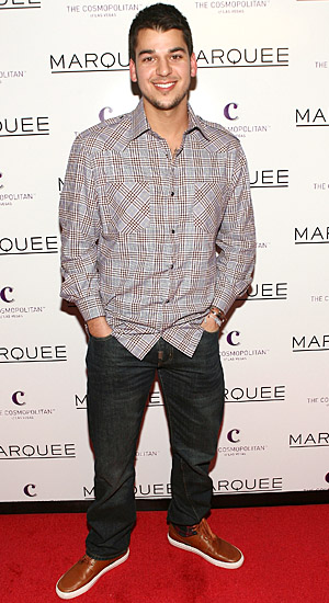 Rob Kardashian in December of 2010. (WireImage)