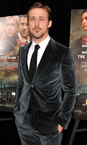 Ryan Gosling at the 'Pines' premiere (Stephen Lovekin/Getty Images)