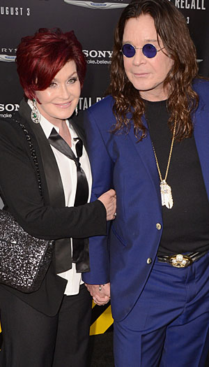 Sharon and Ozzy Osbourne, August 2012 (WireImage)