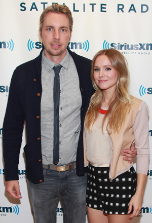 Dax Shepard and Kristen Bell (Getty Images)