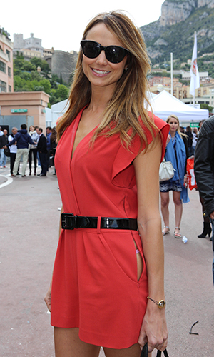 Stacy Keibler in Monaco (Getty Images)