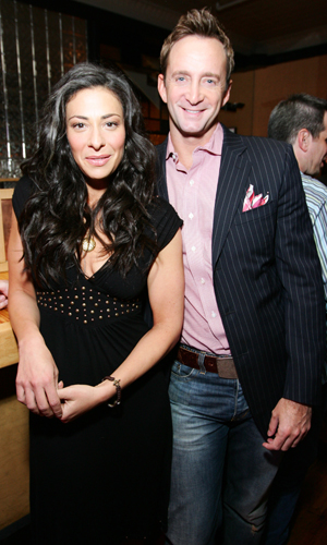Clinton Kelly and his 'What Not to Wear' co-host Stacy London (Jason Squires/WireImage)