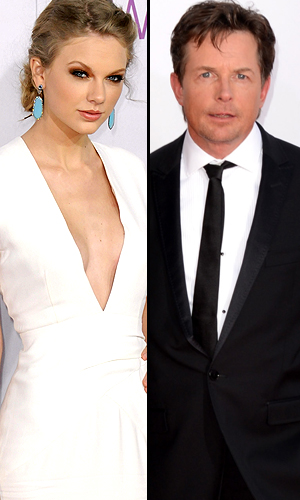 Taylor Swift, Michael J. Fox (Getty Images)