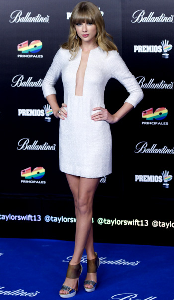 Taylor Swift on January 24 (Getty Images)