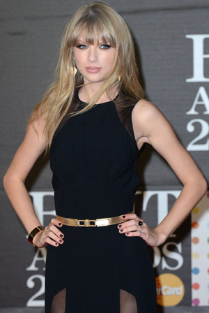 Taylor Swift has two words for her exes: Bring it! (Splash News)