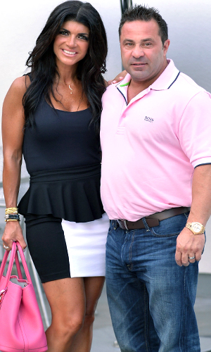 Teresa and Joe Giudice (Vallery Jean/FilmMagic)