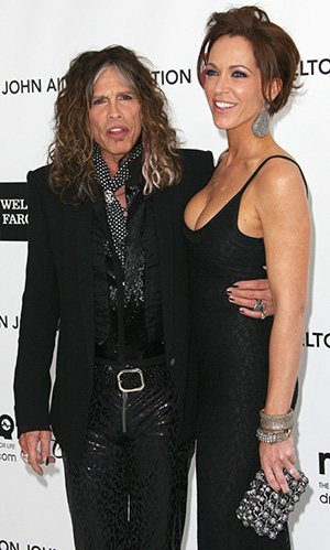 Steven Tyler and Erin Brady (Getty Images)