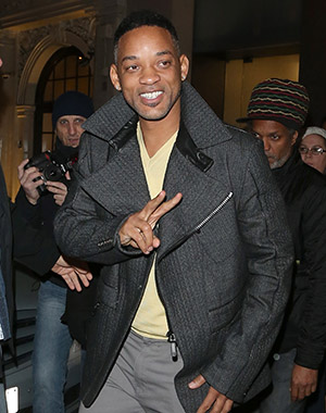 Will Smith chaperoning Saturday night (Splash News)