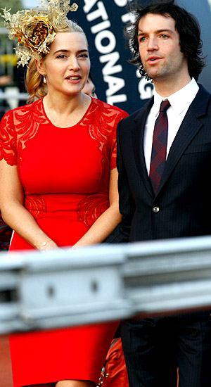 Kate Winslet and husband Ned RocknRoll (AP Photo)