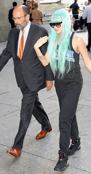 Amanda Bynes arrives in court Tuesday (Getty Images)