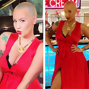 Amber Rose on March 18 (Twitter)