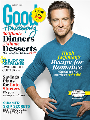 Hugh Jackman's winning recipe! (Good Housekeeping)