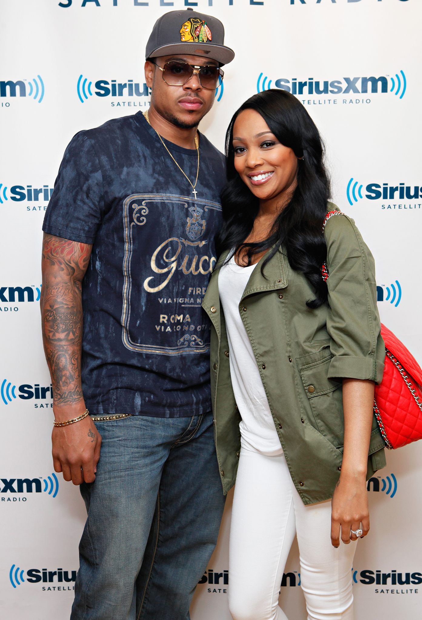 Shannon Brown and Monica (Getty Images)