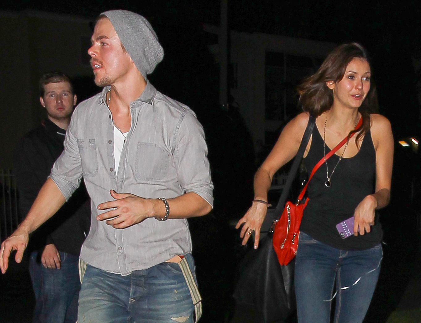 Derek Hough and Nina Dobrev (AKM-GSI)