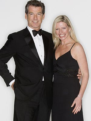 Pierce Brosnan and his daughter, Charlotte (Getty Images)