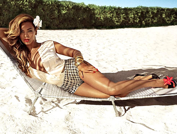 Beyonce ad for H&M (Inez van Lamsweerde and Vinoodh Matadin for H&M)