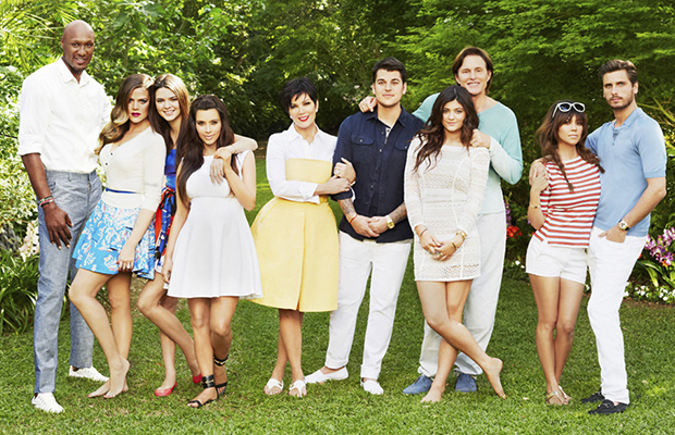 The Kardashian clan, ready for action! (E! Networks)