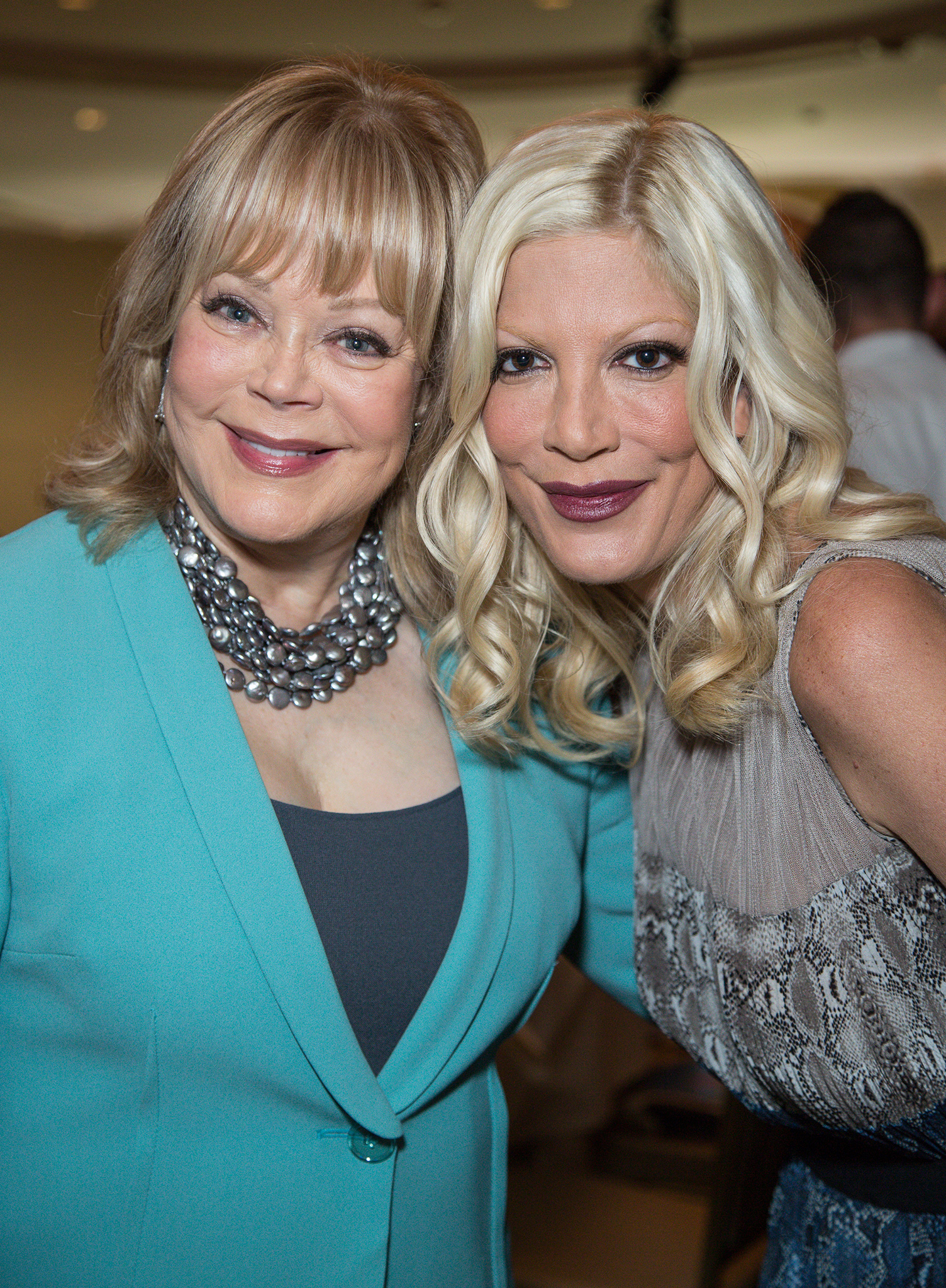 Tori and Candy Spelling (WireImage)