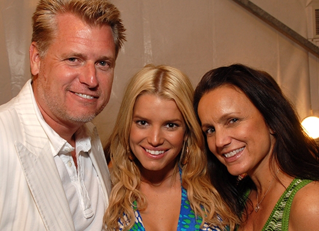 Joe, Jessica, and Tina Simpson (Getty Images)