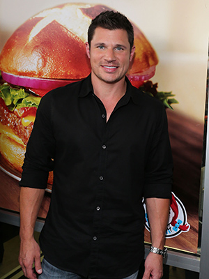 Nick Lachey croons for Wendy's (Getty Images)