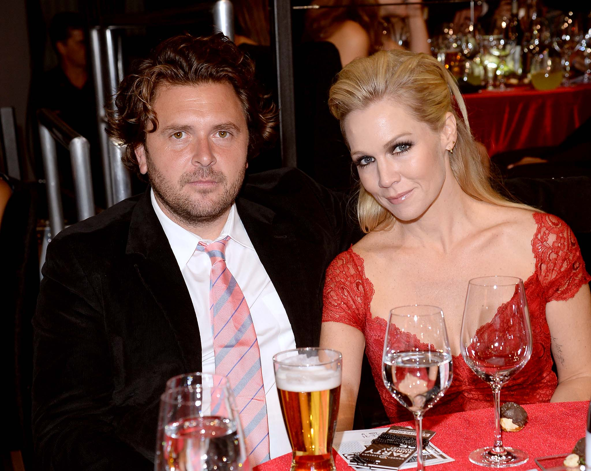 Michael Shimbo and Jennie Garth (Getty Images)