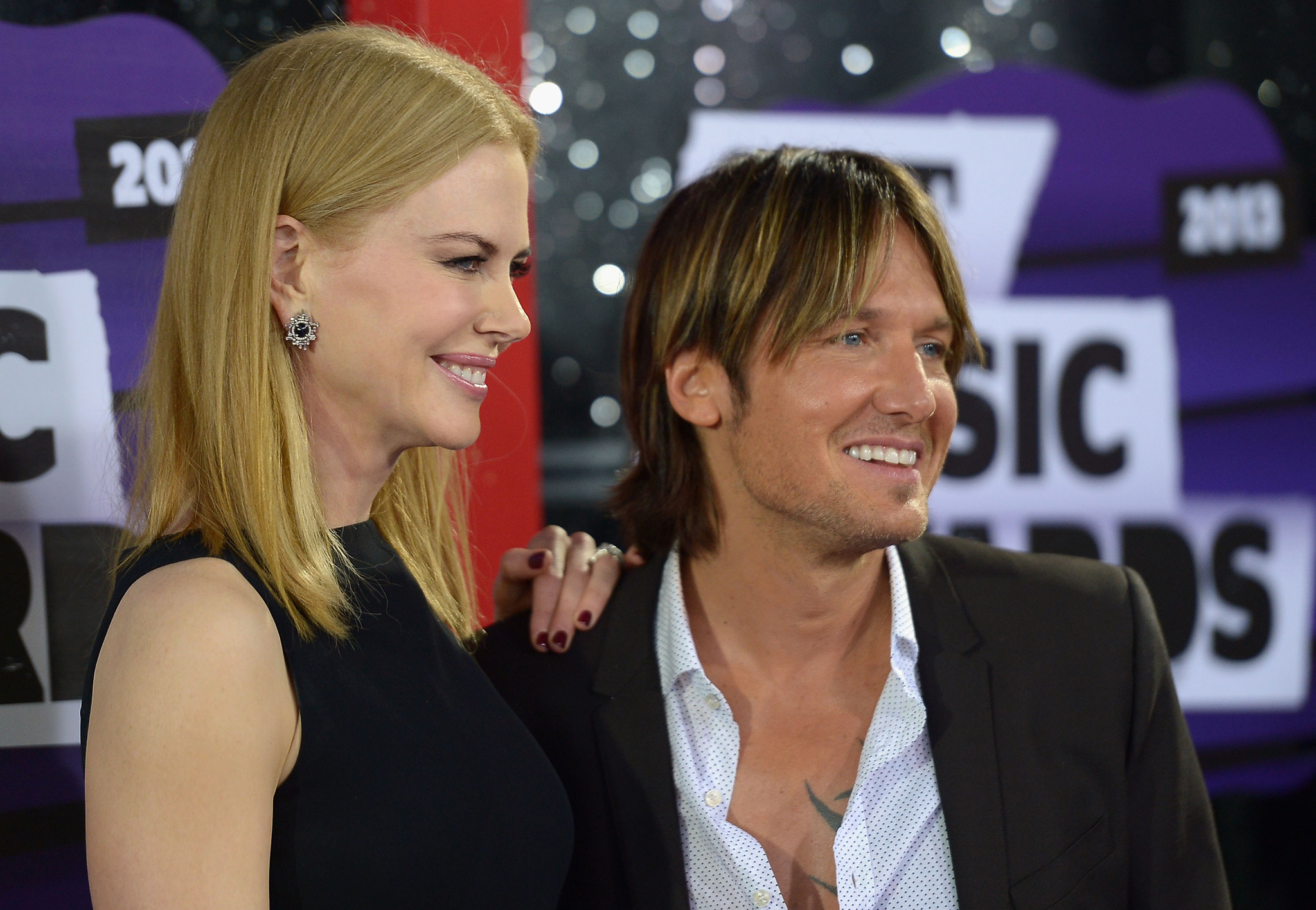 Kidman with Urban at the CMT Music Awards in June. (Getty Images)