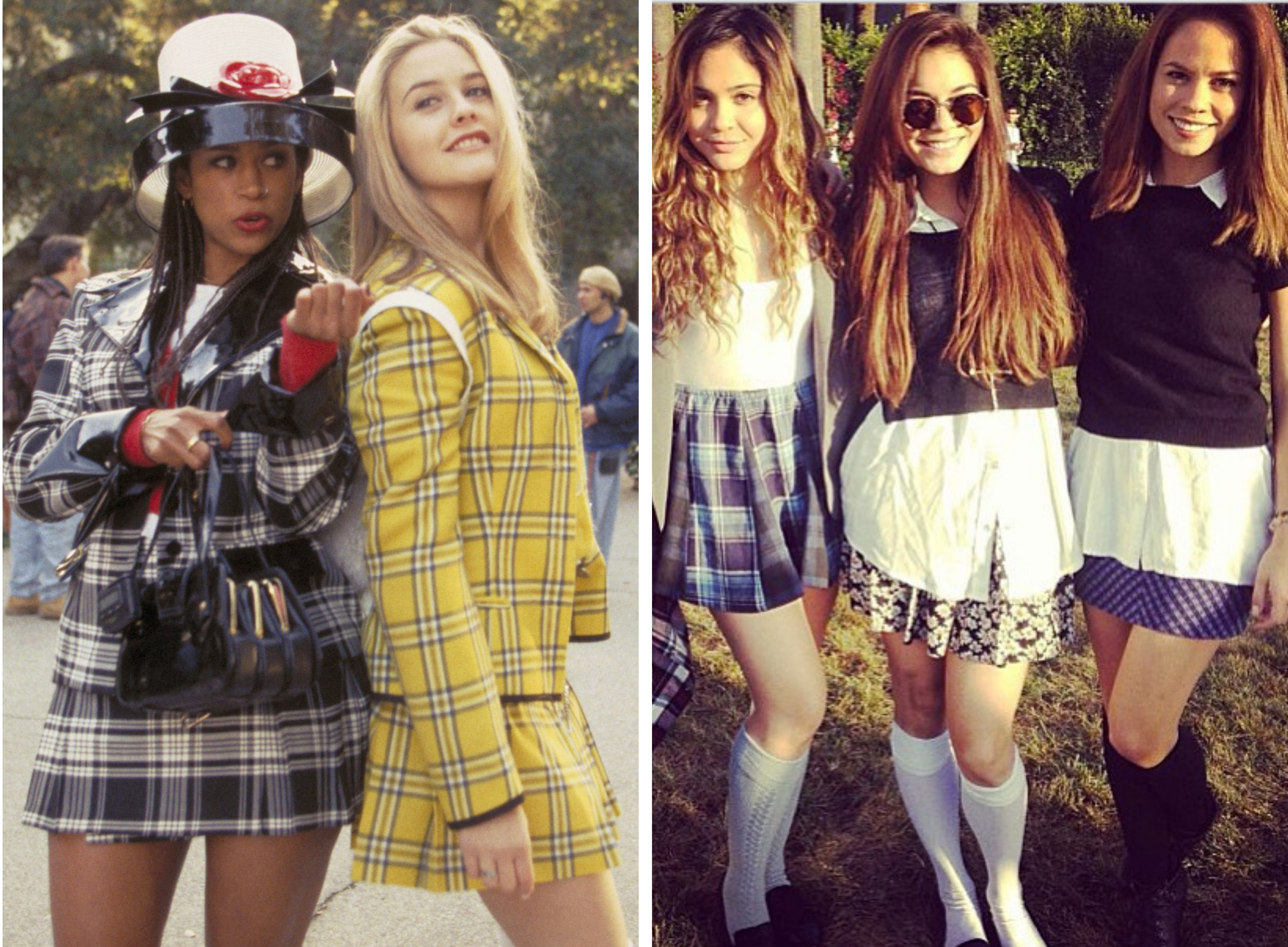 Cher Horowitz and Dionne Davenport from
