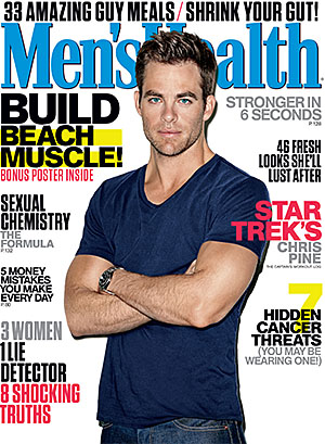 Chris Pine (Men's Health)